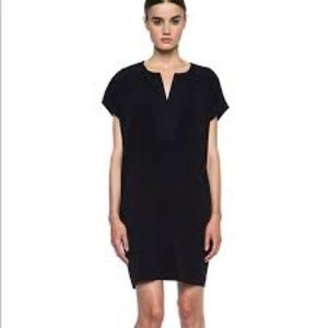 VINCE Black Popover dress SIZE: S